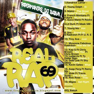 DJ BABYK & PAPERMAKERS - REAL RAP 69 (2017)