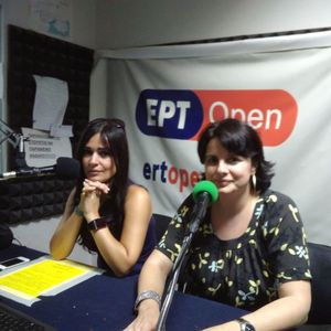 Η Ανθή Κοντορούση και η  Μαράια Γαλιατσάτου από τον ΠΕΣΥΘ στην ραδιοεφημερίδα με τον Νίκο Κλέτσα