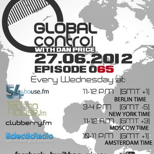 Dan Price - Global Control Episode 065 (27.06.12)