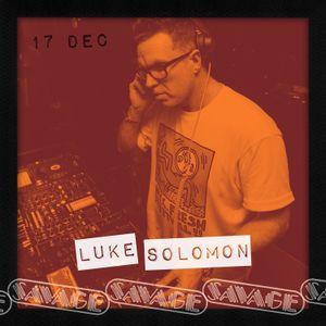Luke Solomon @ Savage Disco, London 17.12.17