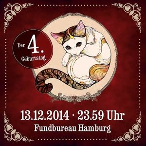 Kippe & Kiste - 4 Jahre Heimatmelodie - 13.12.2014 Fundbureau Hamburg
