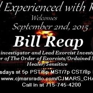 Paranormal Experienced 20150902 Bill Reap
