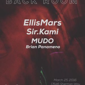 MUDO live from the Backroom 03/25/16