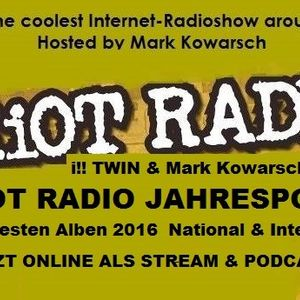 RIOT RADIO 2016-Die Besten Alben National& International Top 20 mit i!! Twin