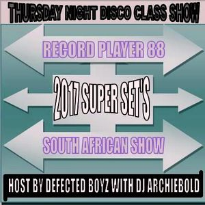 The Disco Class Bash Super Mager Show.RP.88 Present By Dj Archiebold [Underground Set]