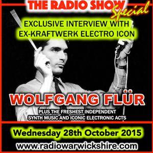 "RW048 - THE JOHNNY NORMAL RADIO SHOW ""WOLFGANG FLUR SPECIAL"" - 29TH OCT 2015 - Radio Warwickshire"