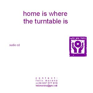 home is where the turntable is