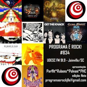 #834 Programa É Rock Jlle - UDESC FM 91.9 2016.01out