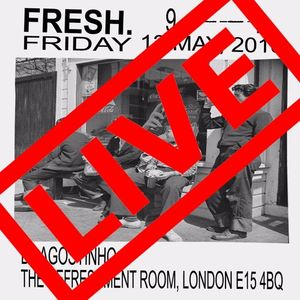 DJ Agostinho @ The Refreshment Room, London for Fresh. May 13 2016