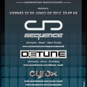 Detune Live @ Shockwave, Rosario (22-06-2012)
