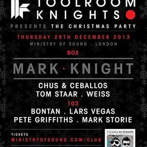 Mark Knight - Live @ Ministry Of Sound London (UK) 2013.12.26.