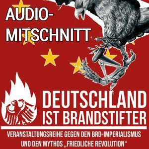 """Audio-Mitschnitt """"Deutschland ist Brandstifter"""""""