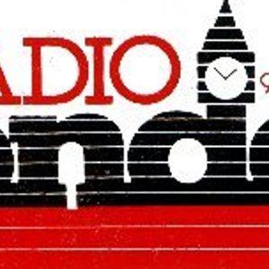 Tony Blackburn Sat Night Soul Special on BBC Radio London circa July 1985