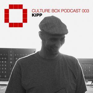 Culture Box Podcast 003 - Kipp