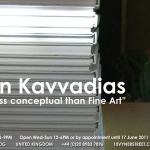 Xenofon Kavvadias 'Untitled' sound installation