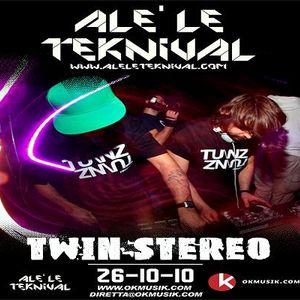 Alè Le Teknival 26.10.2010 - TWIN STEREO