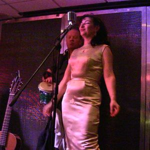 Florence Jolele and the Kiss off Fire@Upstairs AT Ritzys