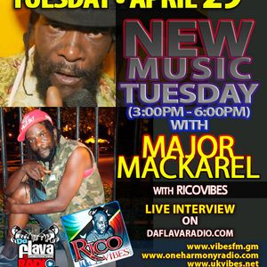 RICOVIBES EXCLUSIVE INTERVIEW WITH MAJOR MACKAREL APRIL 2014