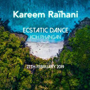 Kareem Raïhani Ecstatic Dance Koh Phangan 27-02-2019