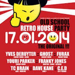 dj Dave Kane @ Fuse - Retro House Party 17-01-2014 opening