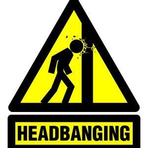 Headbanging 15 10 2015 : tourniquet et parapluie