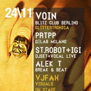PRTPP is for Protopapa @ La Roboterie, Cassero, Bologna, 24.11.2012 *cut edit*