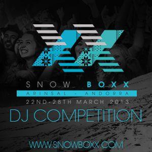 SNOWBOXX  COMPETITION  mix  by plan D