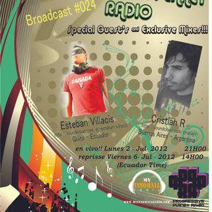 Cristian R - Progressive Planet Radio Broadcast # 024 - Jul 2012
