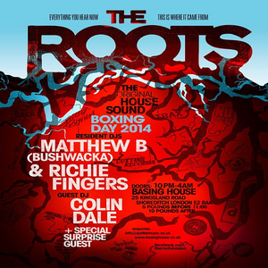 The Roots Mix - Richie Fingers on Vinyl