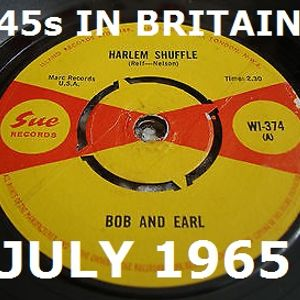 JULY 1965: 45s RELEASED IN THE UK