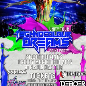 Technocolour Dreams 2015 Promo Mix