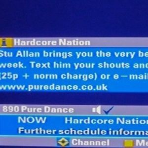 Stu Allan ~ Hardcore Nation on Pure Dance - 4th August, 2005