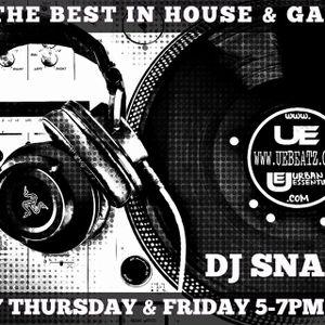 "DJ Snacks presents ""The Bangers'n'Mash Show"" 07/04/16 on UEBEATZ.COM"