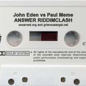 John Eden - Answer riddim mix clash