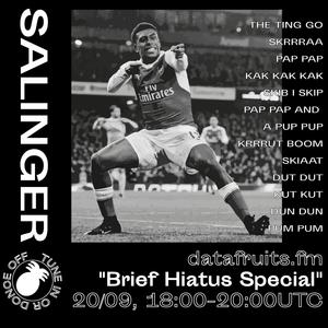 "salinger - ""brief hiatus special"" - 09202017"