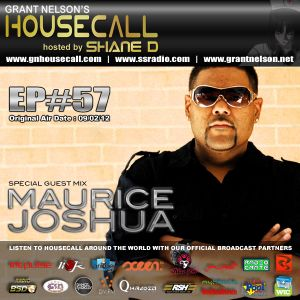 Housecall EP#57 (09/02/12) incl. a guest mix from Maurice Joshua