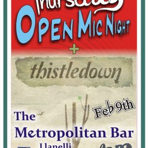 Thistledown @ the Met Bar Llanelli Feb 9th 2012