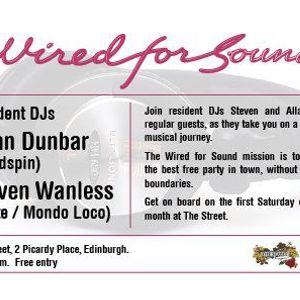 Wired for Sound Volume 1 mixed by Steven Wanless & Allan Dunbar