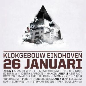Dave Clarke b2b Joseph Capriati @ Awakenings - Klokgebouw - Eindhoven - Netherlands 26-01-2013