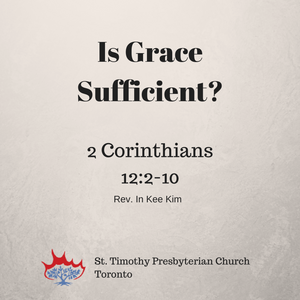 Is Grace Sufficient?