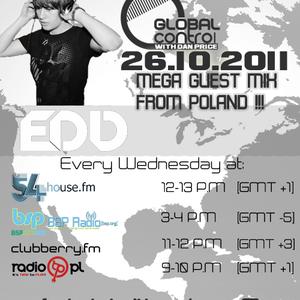 Dan Price - Global Control Episode 030 (26.10.11) EDD Guestmix