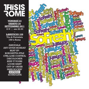 THIS IS ROME 2011: SoFresh! Mixtape