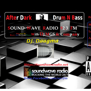 After Dark d'N'b Mad Growling SCi3NTiST Vol.75 Guest Mix Daugma