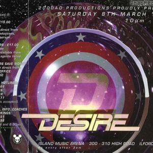 DJ Phantasy with MC Rage Desire 8th March 1997