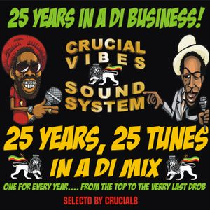 25 Years! 25 Tunes! Crucial Vibes Soundsystem Annyversary Mix selected by Crucial B