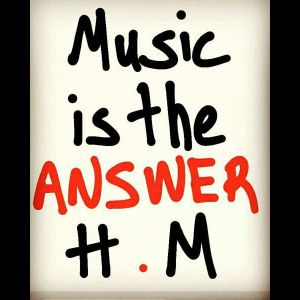 """""""Music is the ANSWER"""" radioshow 22-4-2017 (part 2)"""
