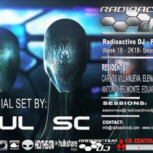 RADIOACTIVO DJ 18-2018 BY CARLOS VILLANUEVA