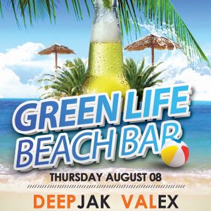 DeepJak - BirthDay Set live from GreenLife BeachBar @ Smokinja 08.08.2013