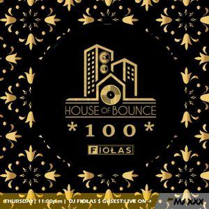 House of Bounce #100 - dj Fiołas