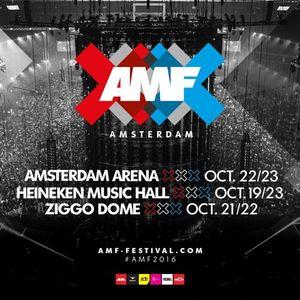 W&W @ Amsterdam Music Festival 2016 (ADE 2016) – 22 10 2016 [FREE